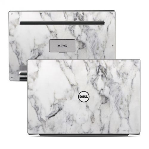 White Marble Dell XPS 13 9343 Skin