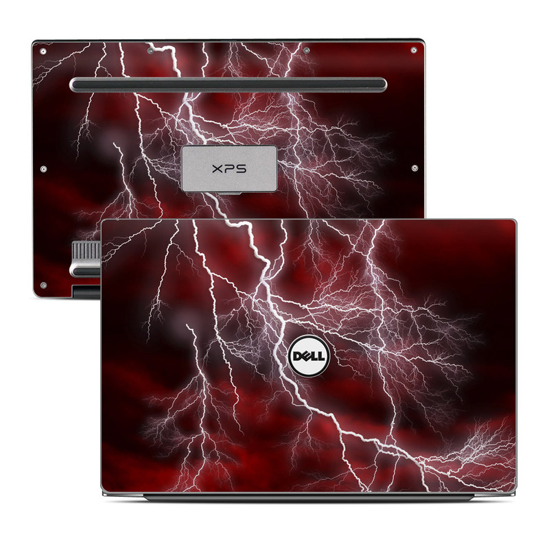 Apocalypse Red Dell XPS 13 Skin