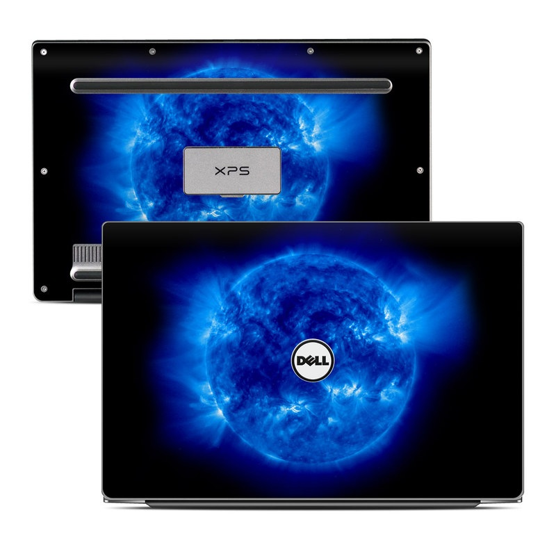 Dell XPS 13 9343 Skin design of Blue, Astronomical object, Outer space, Atmosphere, Electric blue, Earth, Planet, Water, Space, Universe with blue, black colors