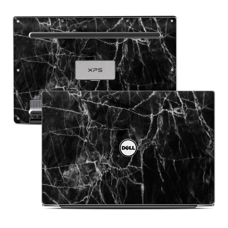 Black Marble Dell XPS 13 Skin