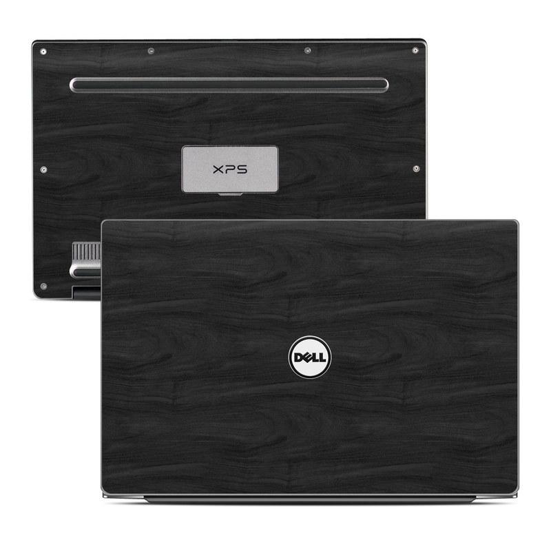 Black Woodgrain Dell XPS 13 Skin