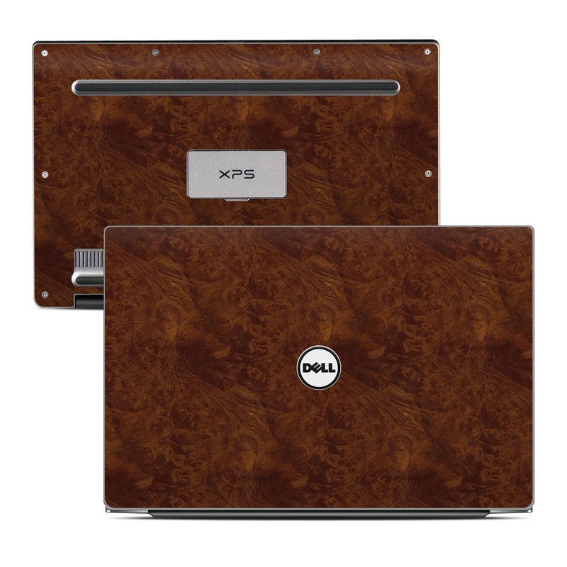 Dark Burlwood Dell XPS 13 9343 Skin