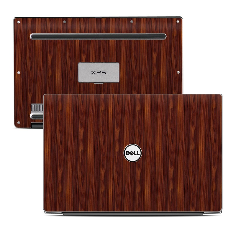 Dell XPS 13 9343 Skin design of Wood, Red, Brown, Hardwood, Wood flooring, Wood stain, Caramel color, Laminate flooring, Flooring, Varnish with black, red colors
