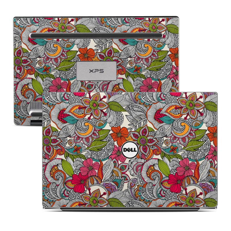 Doodles Color Dell XPS 13 Skin