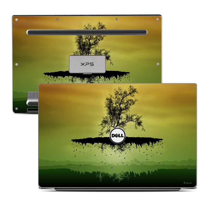Flying Tree Amber Dell XPS 13 Skin