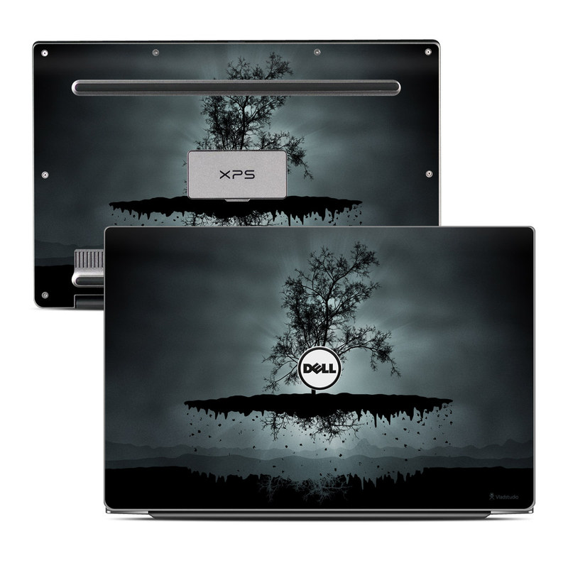 Flying Tree Black Dell XPS 13 9343 Skin