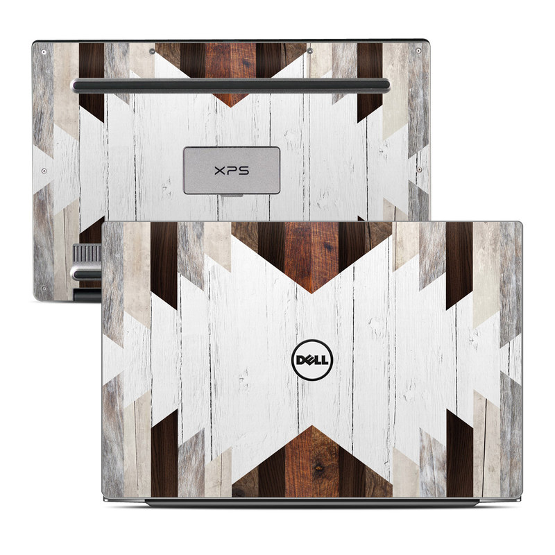 Dell XPS 13 9343 Skin design of Wood, Wall, Architecture, Line, Hardwood, Wood stain, Plank, Material property, Pattern, Room with white, brown, gray colors