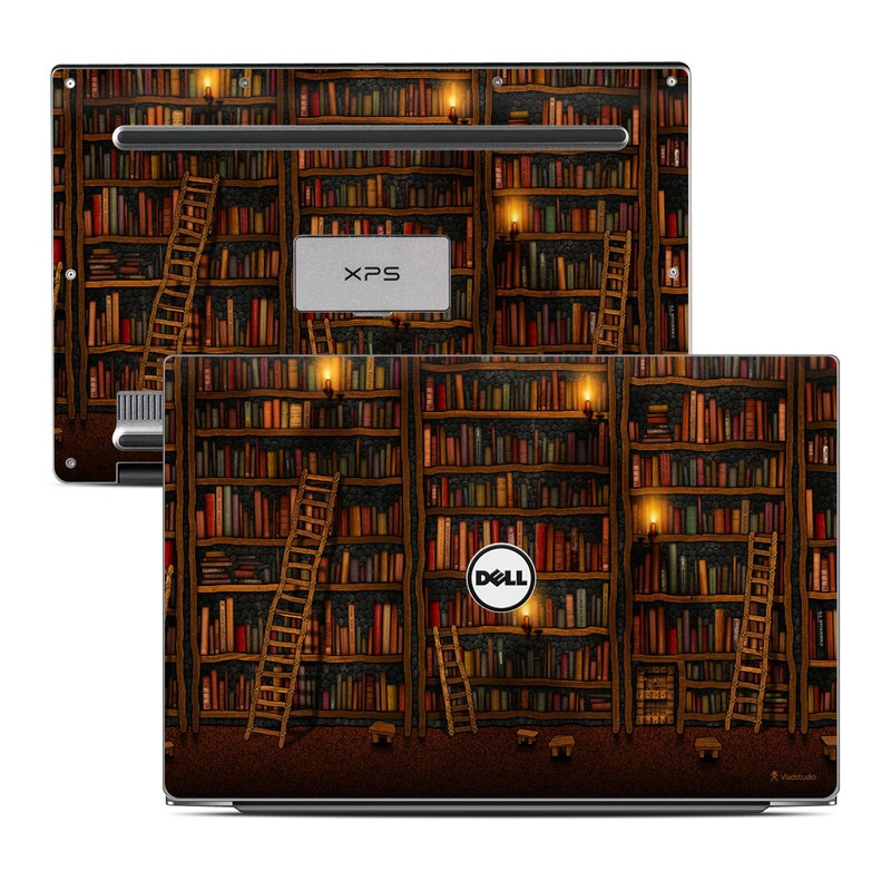 Library Dell XPS 13 Skin