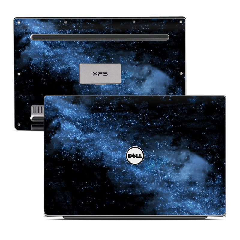 Dell XPS 13 9343 Skin design of Sky, Atmosphere, Black, Blue, Outer space, Atmospheric phenomenon, Astronomical object, Darkness, Universe, Space with black, blue colors