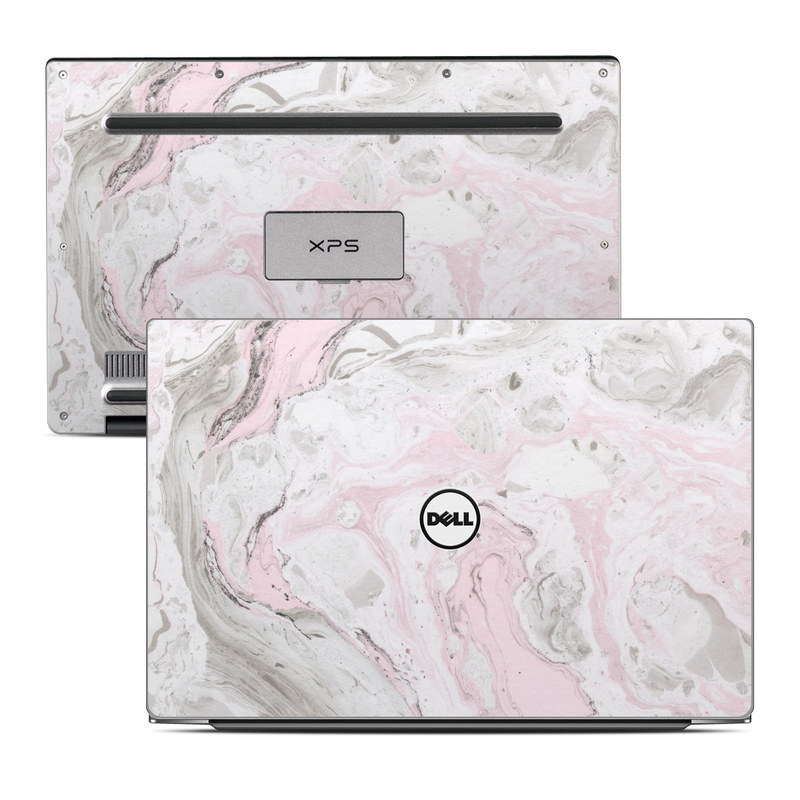 Dell XPS 13 9343 Skin design of White, Pink, Pattern, Illustration with pink, gray, white colors