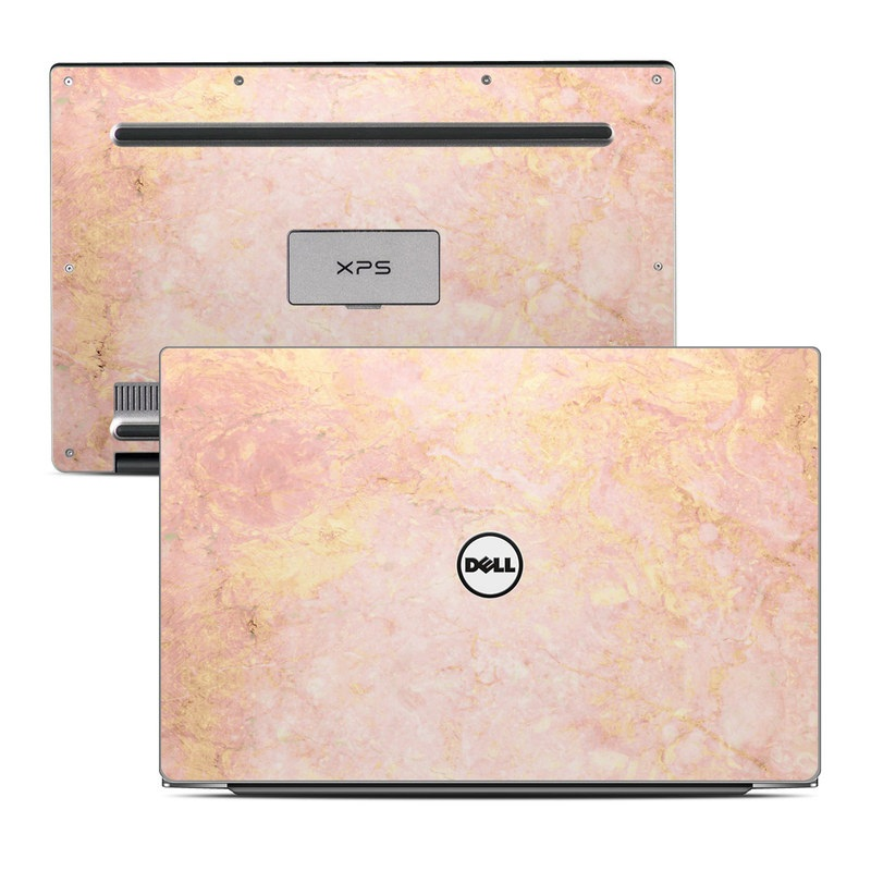 Rose Gold Marble Dell XPS 13 Skin