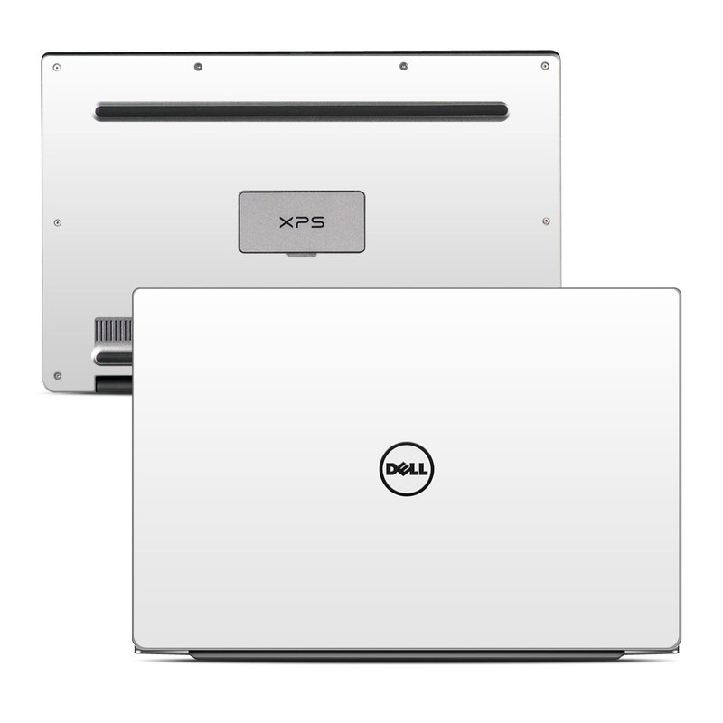 Solid State White Dell XPS 13 Skin