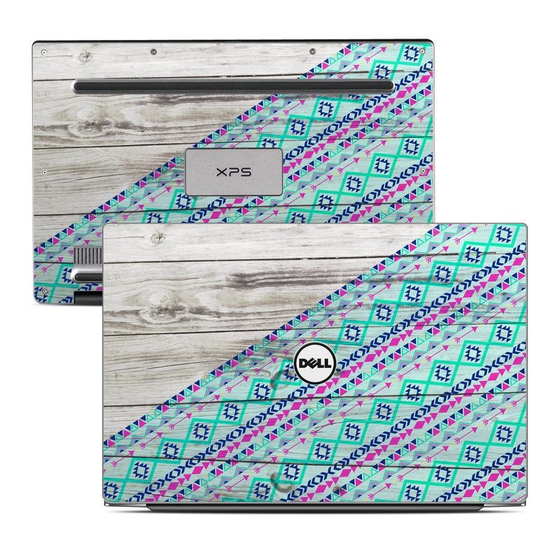 Dell XPS 13 9343 Skin design of Turquoise, Pattern, Pink, Line, Magenta, Parallel with gray, blue, purple colors
