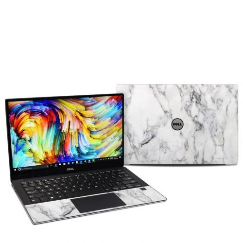 White Marble Dell XPS 13 9360 Skin