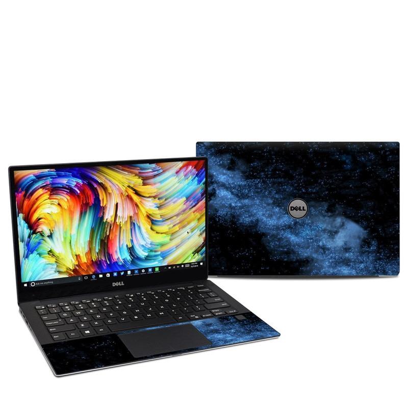 Dell XPS 13 9360 Skin design of Sky, Atmosphere, Black, Blue, Outer space, Atmospheric phenomenon, Astronomical object, Darkness, Universe, Space with black, blue colors