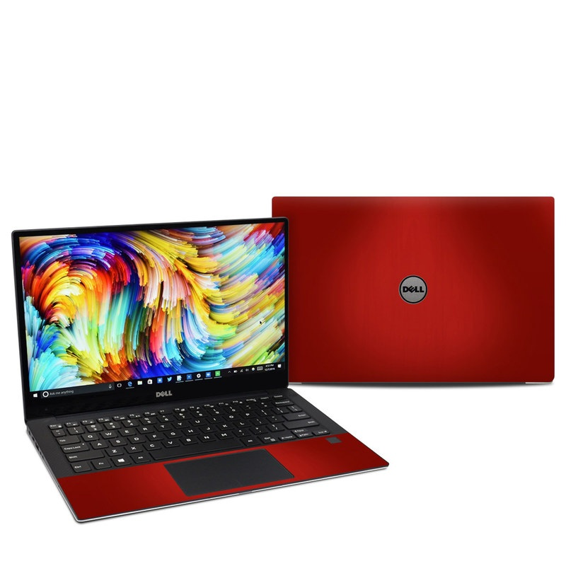Dell XPS 13 9360 Skin design of Red, Maroon, Orange, Brown, Peach, Pattern, Magenta with red colors