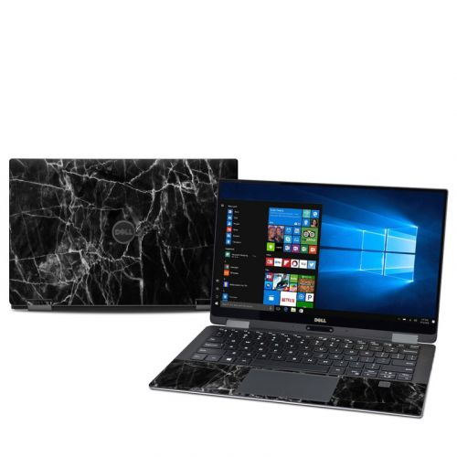 Black Marble Dell XPS 13 2-in-1 9365 Skin