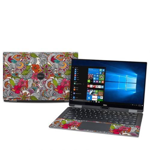 Doodles Color Dell XPS 13 2-in-1 9365 Skin