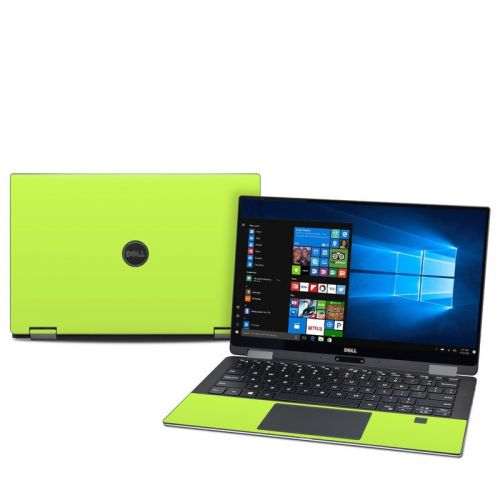 Solid State Lime Dell XPS 13 2-in-1 9365 Skin