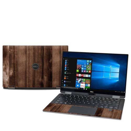 Stained Wood Dell XPS 13 2-in-1 9365 Skin