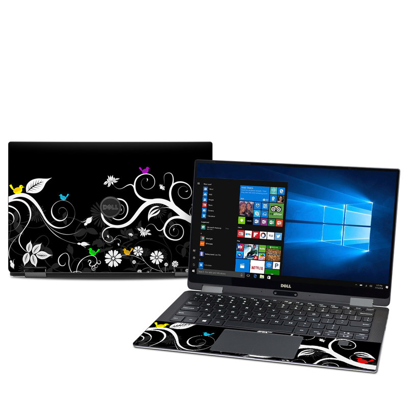 Tweet Dark Dell XPS 13 2-in-1 9365 Skin