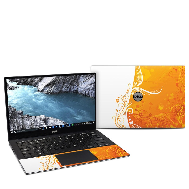 Orange Crush Dell XPS 13 9370 Skin
