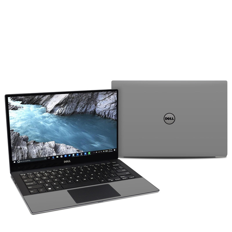 Solid State Grey Dell XPS 13 9370 Skin