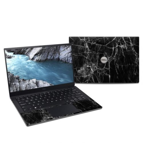 Black Marble Dell XPS 13 9380 Skin