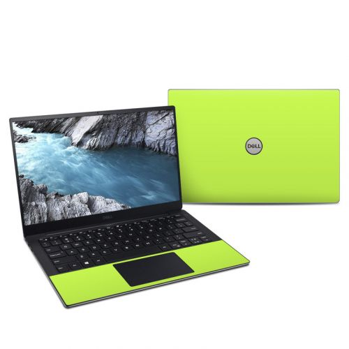 Solid State Lime Dell XPS 13 9380 Skin