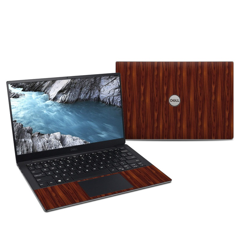 Dell XPS 13 9380 Skin design of Wood, Red, Brown, Hardwood, Wood flooring, Wood stain, Caramel color, Laminate flooring, Flooring, Varnish with black, red colors