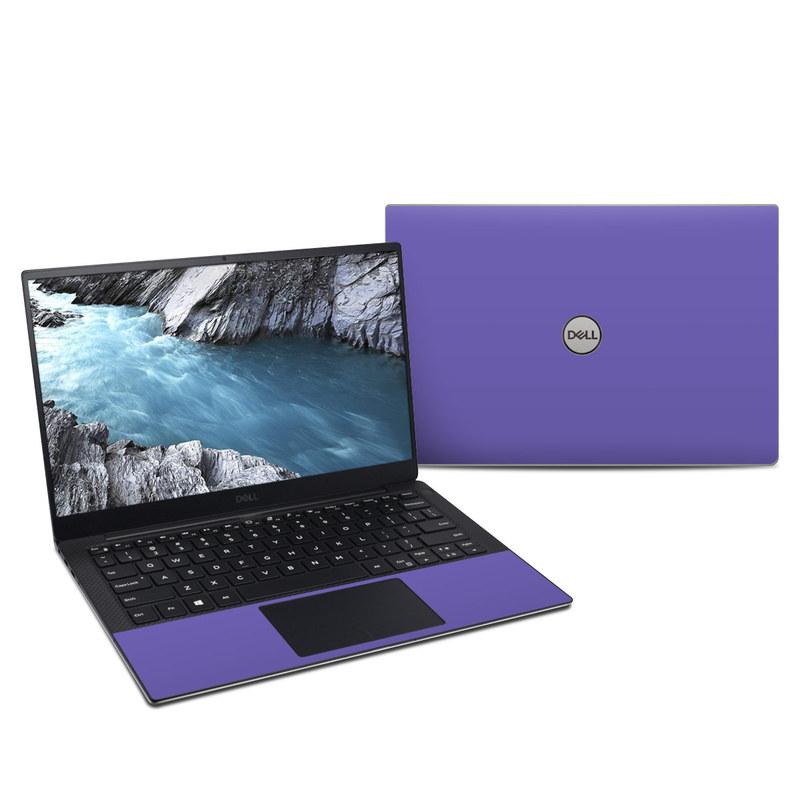 Dell XPS 13 9380 Skin design of Blue, Violet, Sky, Purple, Daytime, Black, Lilac, Cobalt blue, Pink, Azure with purple colors