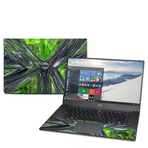 Emerald Abstract Dell XPS 15 9560 Skin