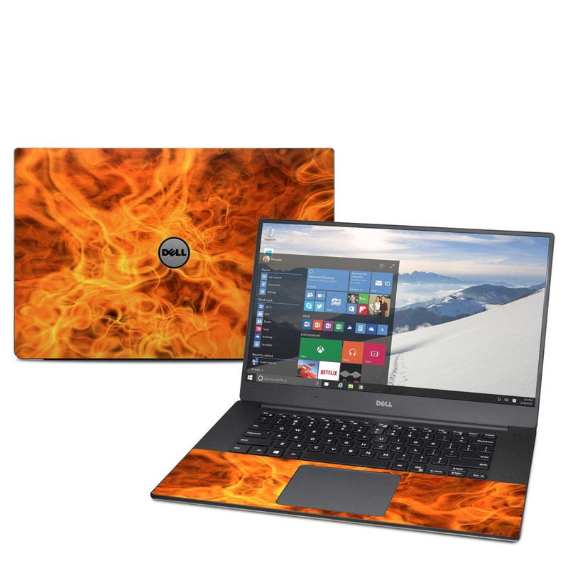Combustion Dell XPS 15 9560 Skin