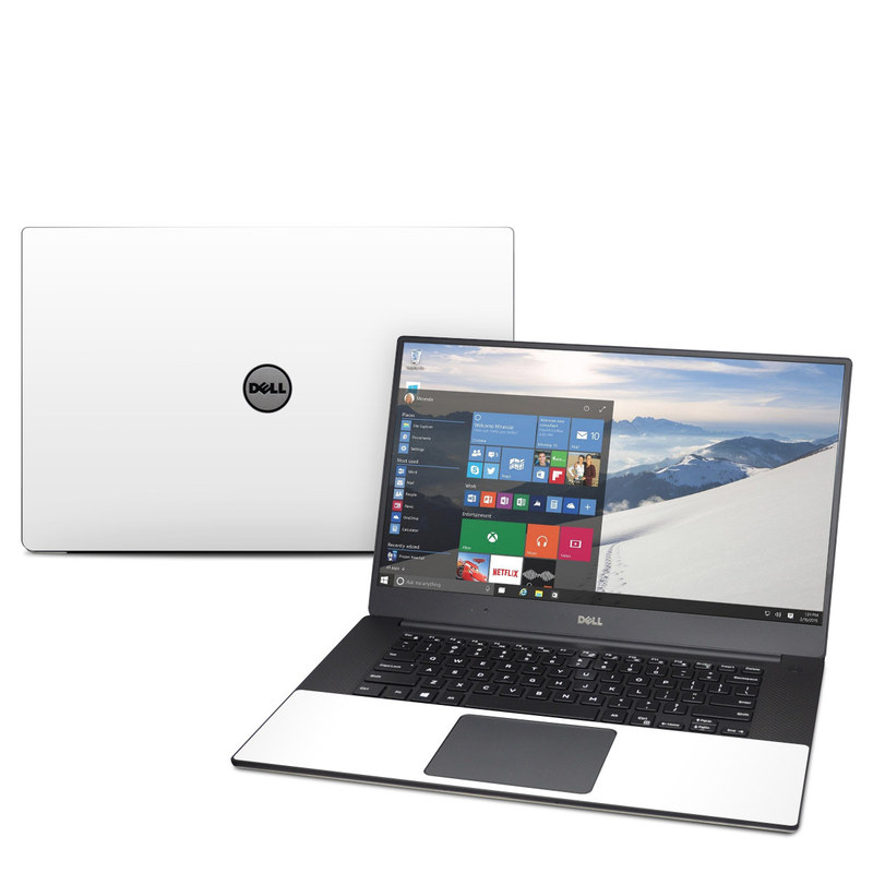 Solid State White Dell XPS 15 9560 Skin