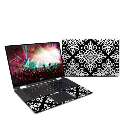 Noir Dell XPS 15 2-in-1 9575 Skin