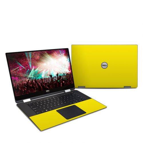 Solid State Yellow Dell XPS 15 2-in-1 9575 Skin