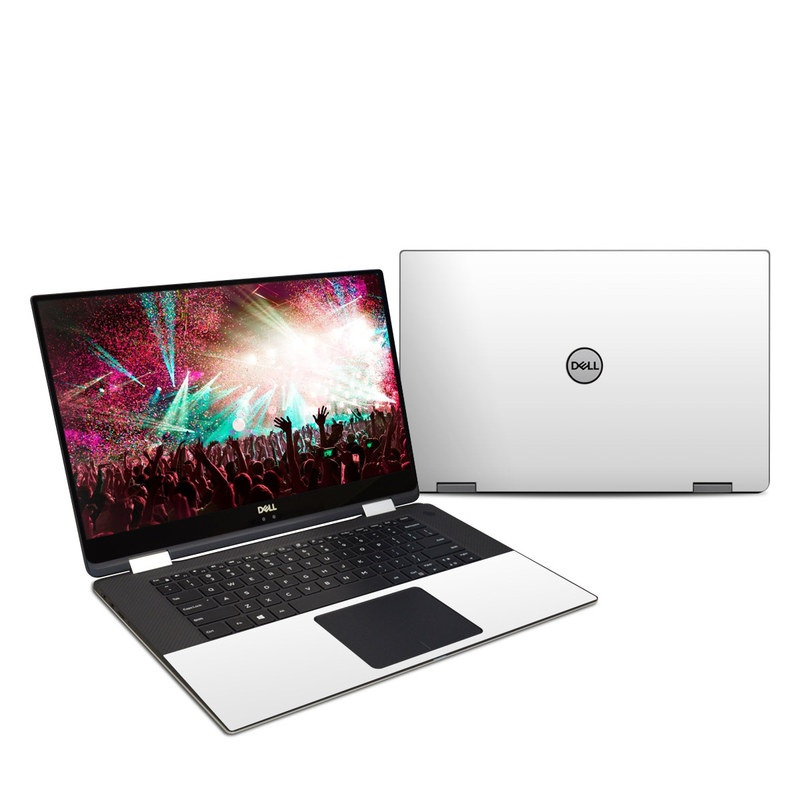 Solid State White Dell XPS 15 2-in-1 9575 Skin