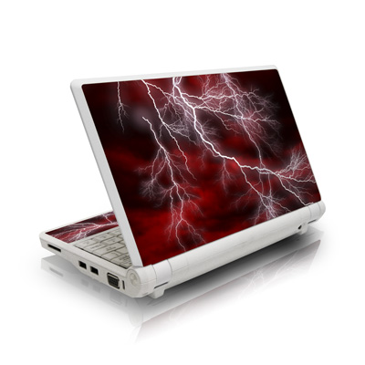 Apocalypse Red Asus Eee PC Skin
