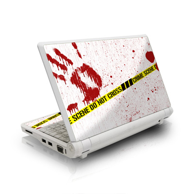 Asus Eee PC Skin design of Text, Font, Red, Graphic design, Logo, Graphics, Brand, Banner with white, red, yellow, black colors