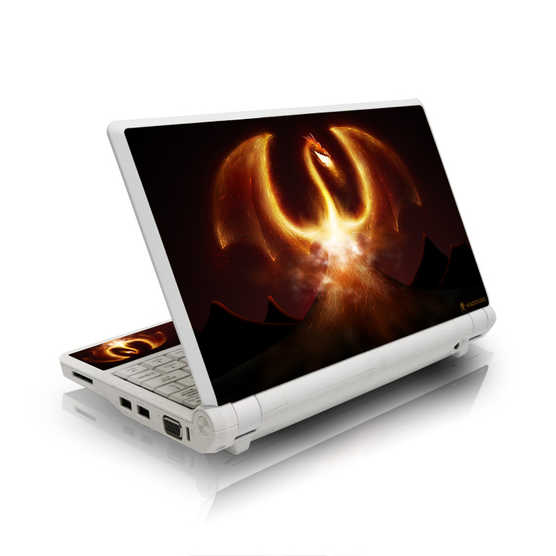 Fire Dragon Asus Eee PC Skin