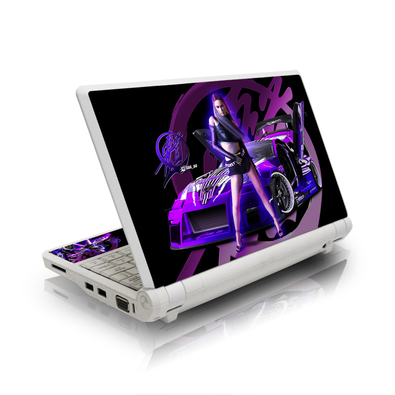 Z33 Purple Asus Eee PC Skin