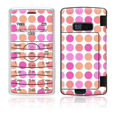 Big Dots Peach LG enV2 Skin
