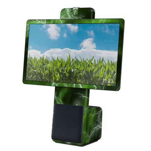Apocalypse Green Facebook Portal Plus Skin