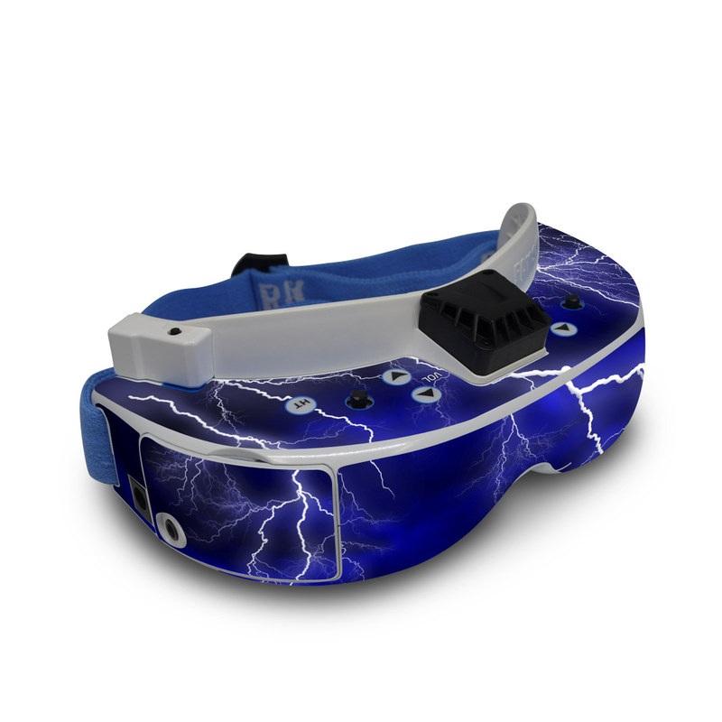 Apocalypse Blue Fat Shark Dominator V3 Skin