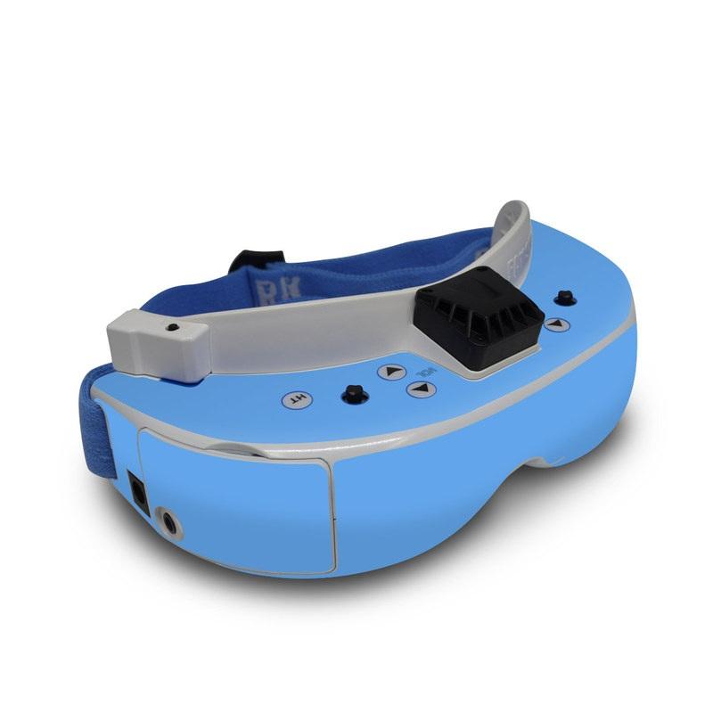 Fat Shark Dominator V3 Skin design of Sky, Blue, Daytime, Aqua, Cobalt blue, Atmosphere, Azure, Turquoise, Electric blue, Calm with blue colors