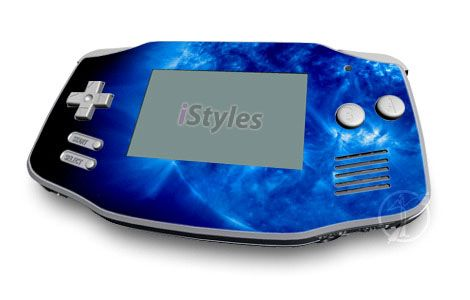 Blue Giant Game Boy Advance Skin