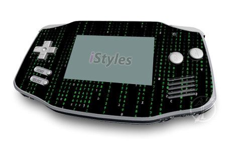 Matrix Style Code Game Boy Advance Skin