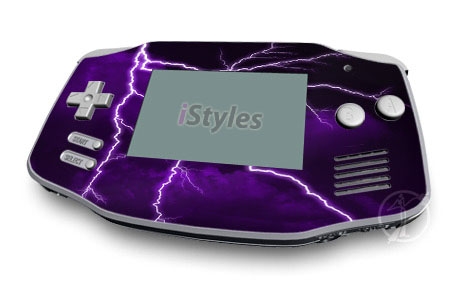 Purple Storm Game Boy Advance Skin