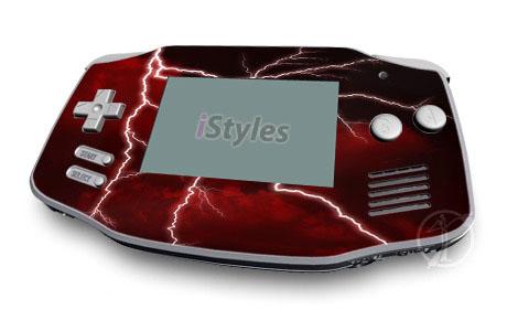 Red Storm Game Boy Advance Skin