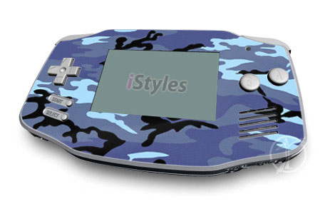Sky Camo Game Boy Advance Skin